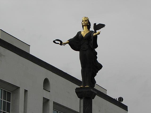 Statue of St. Sofia, Sofia, Bulgaria