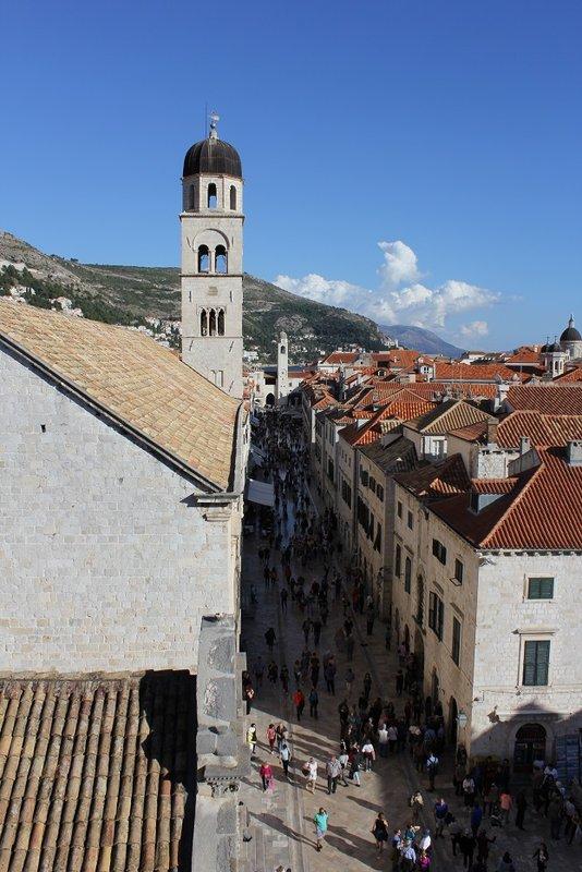 Inside the walls of Dubrovnik