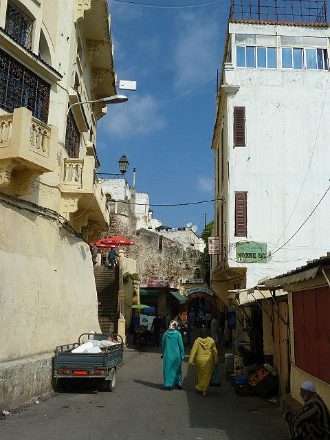 Tanger - en route vers la médina