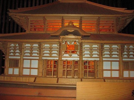Maquette du temple - Small scale replica
