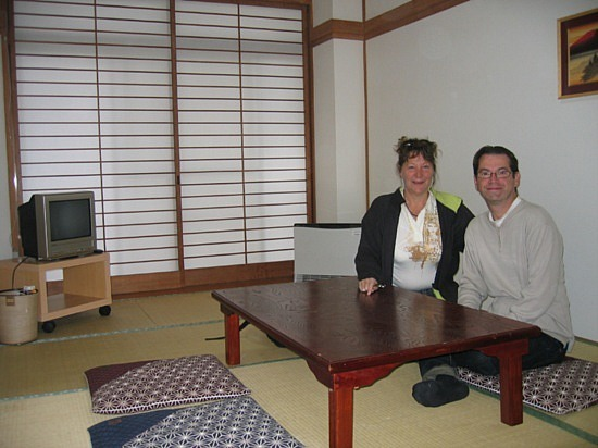 Notre chambre japonaise-Our japanese room (Ryocan)