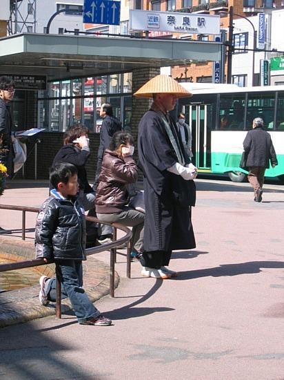 Moine - Monks (in Nara)