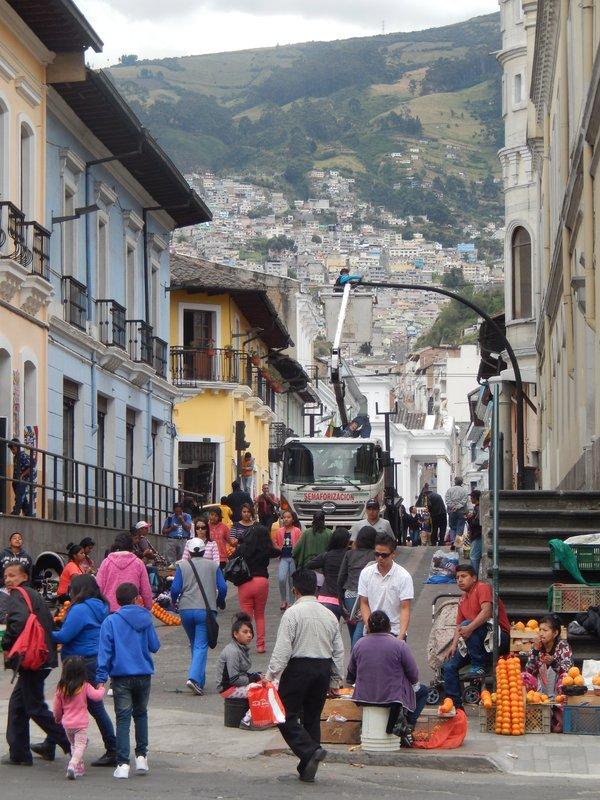 Quito's Historical Center