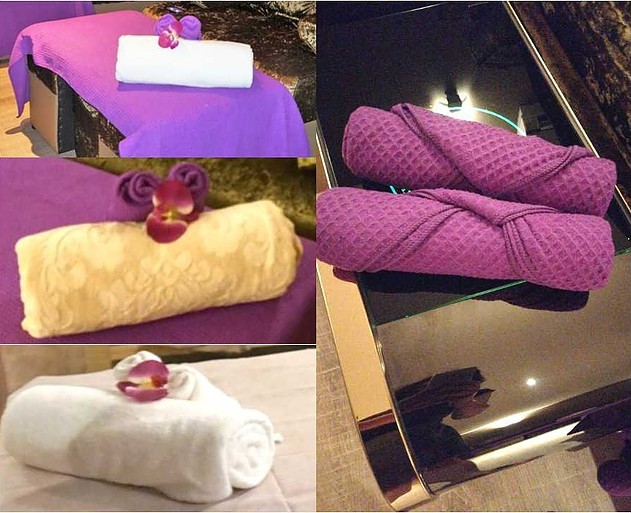 Towels and massage accessories