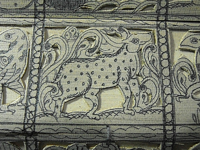"""Intricate Banana leaf """"Engraving"""""""