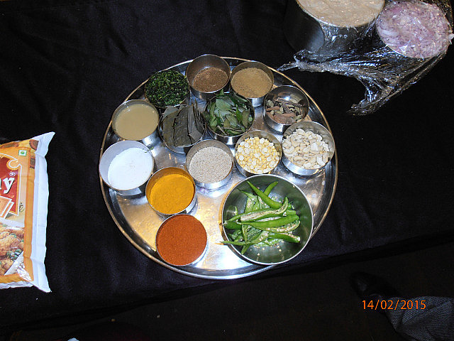 Curry Demo Ingredients