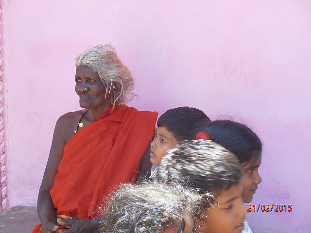 Indian Village - Old Woman