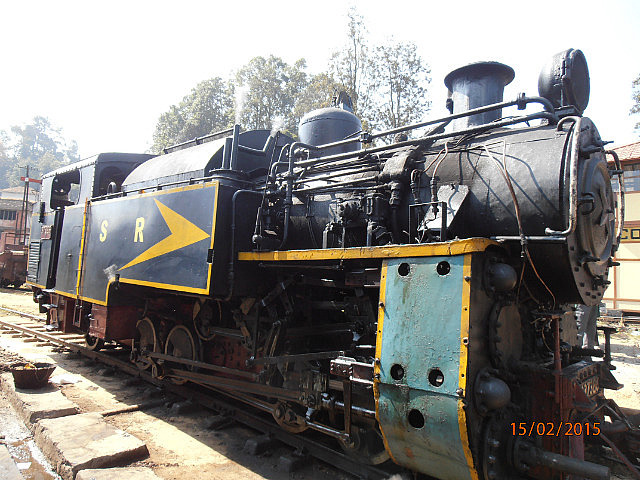 Steam Train at Coonoor