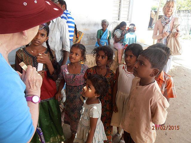 Indian Village kids