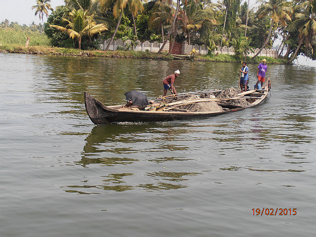 Kerala Barge