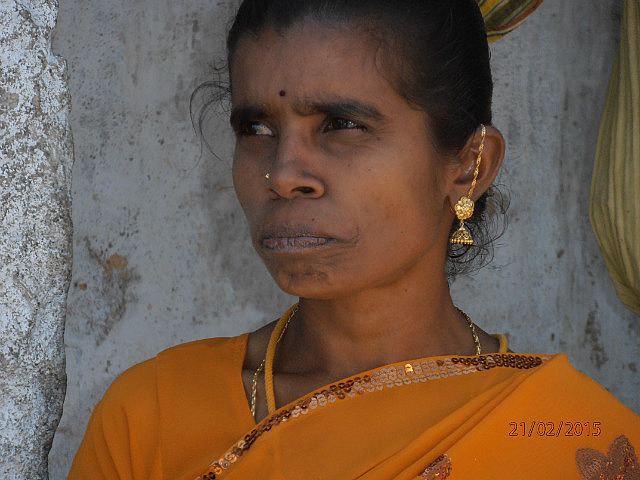 Indian Village - Younger Woman
