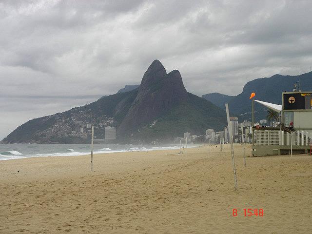 Empty Beach - Rio