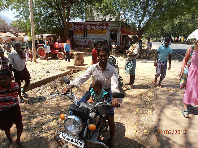 Baby on Motorbike
