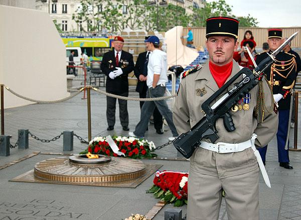 Arc de Triomphe The Unknown Soldier