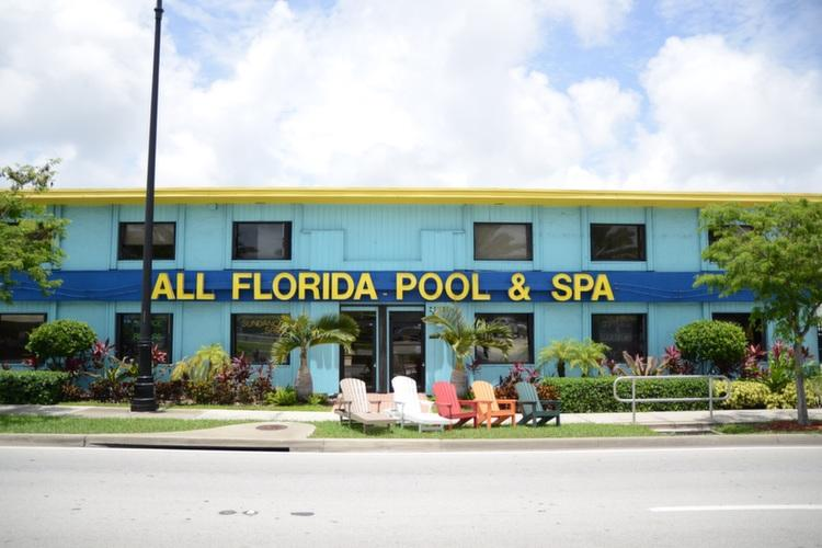 All Florida Pool & Spa Center Storefront