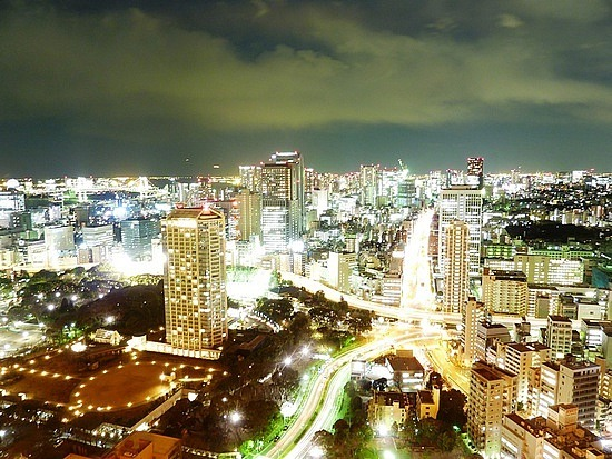 15 sec Exposure of Tokyo