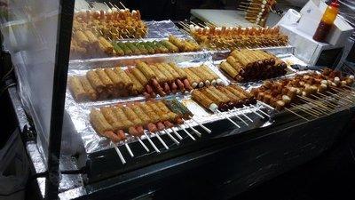 Soooo much food on a stick