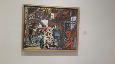 Painting I liked at Picasso Museum