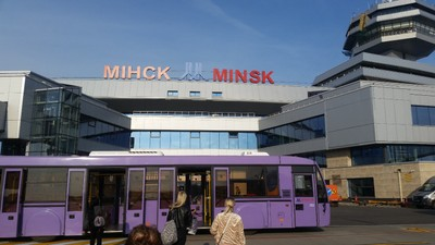 Welcome to Minsk Airport