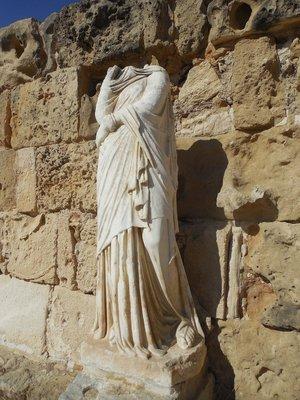 Salamis Statue