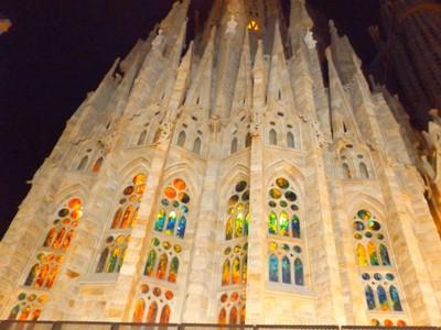 Early morning Sagrada Familia