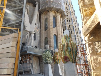 roof of Sagrada Familia