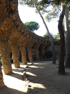 Free part of Guell Park