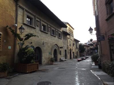Poble Espanyol street