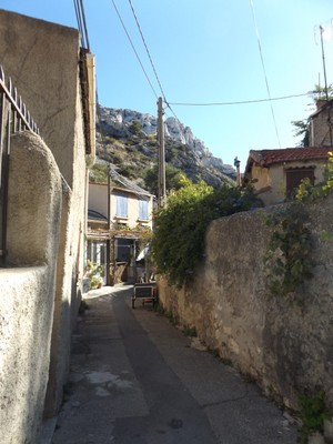 Town in Calanques