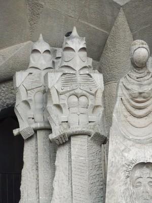 Newer Facade of Sagrada Familia