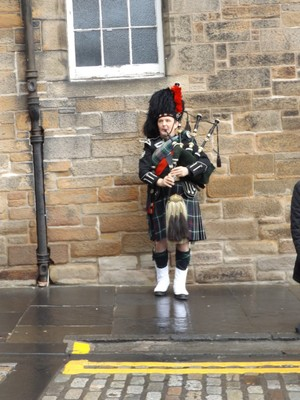 street bagpipes