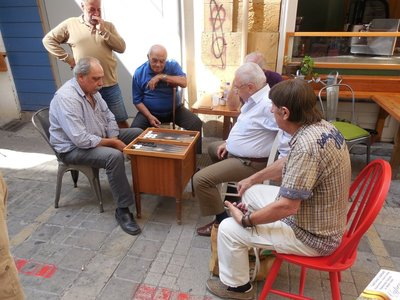 Street Backgammon