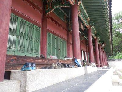 Shoes at Palace