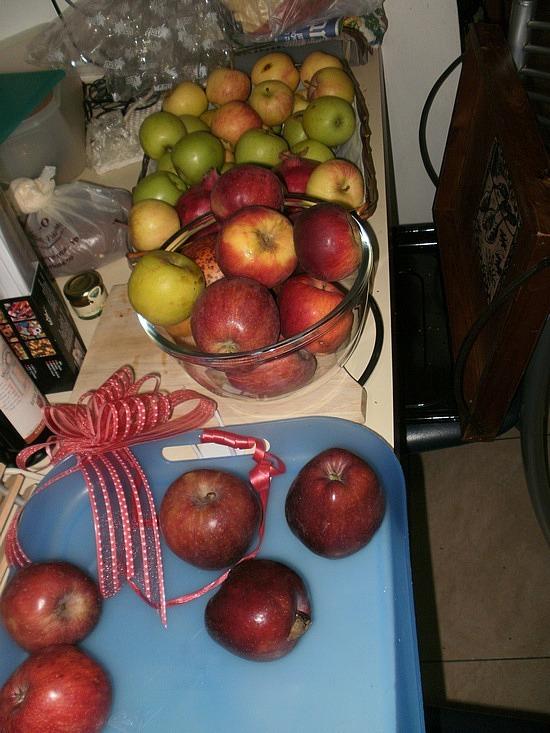 Apples for Rosh Hashana