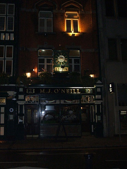 One of the literature-related bars