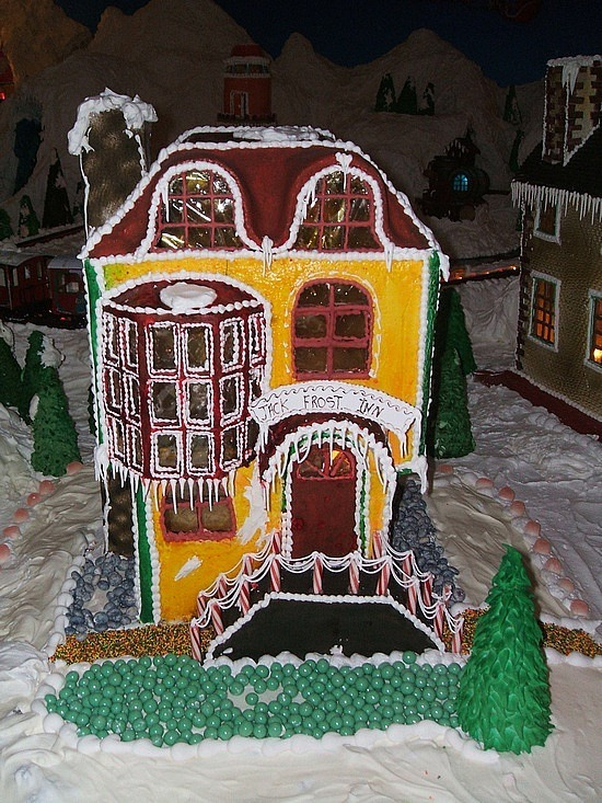 Gingerbread house at BCH