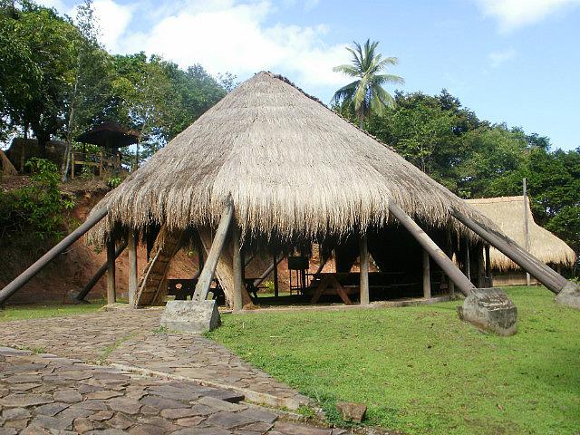 Kalinago village