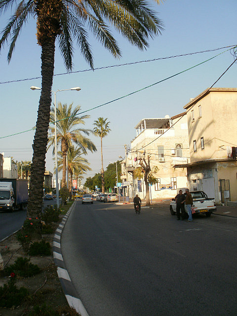 Akko city street