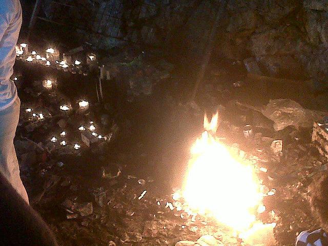 Candles at Meron