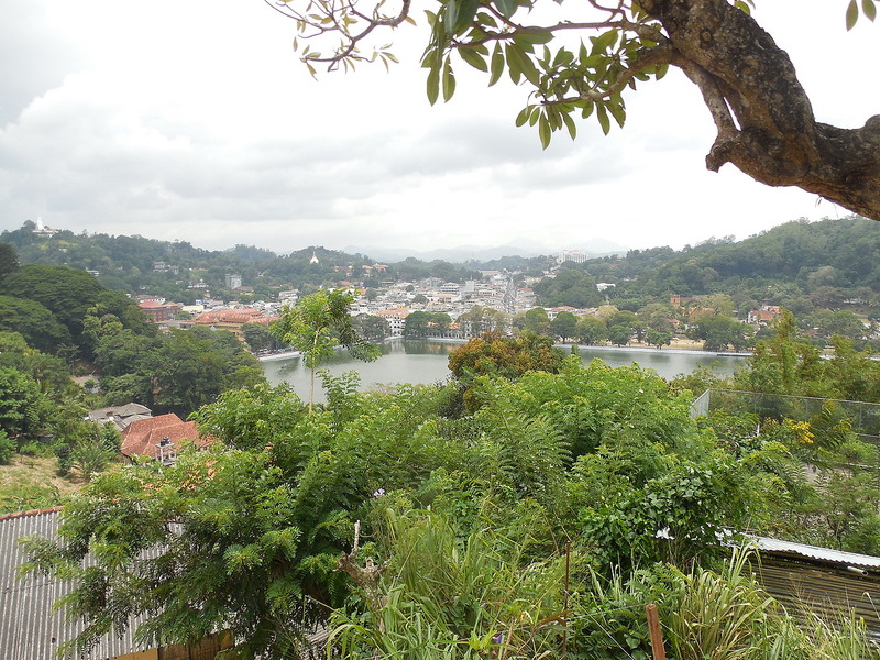 Last view of Kandy