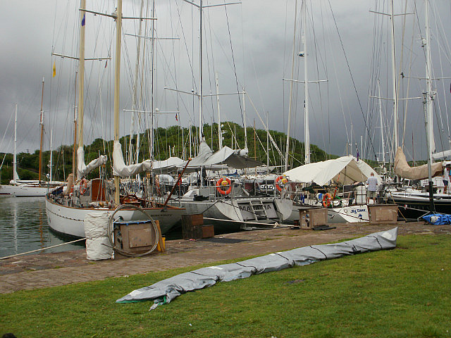 Boats at Nelson's Dockyard