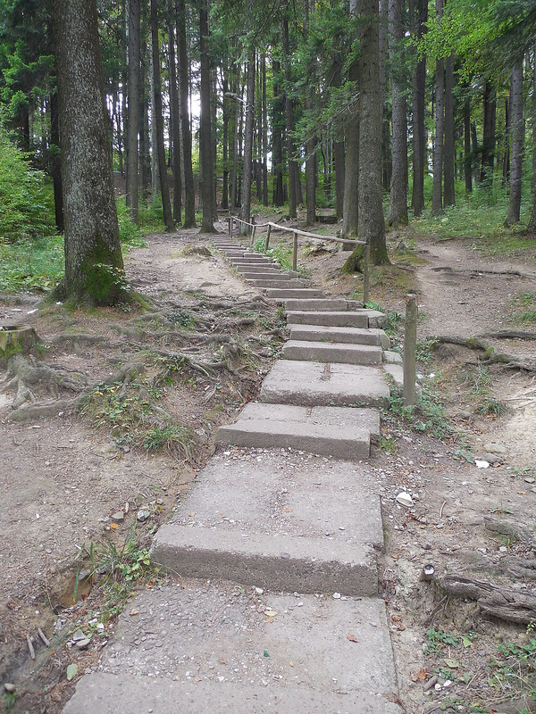 Stairs to the Monastery