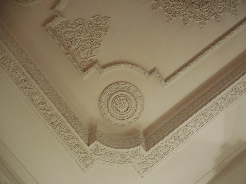 Lacy ceilings