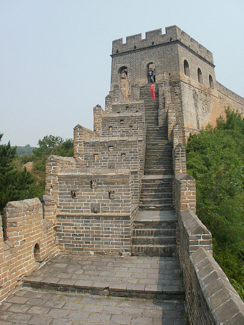 Restored Jinshanling tower