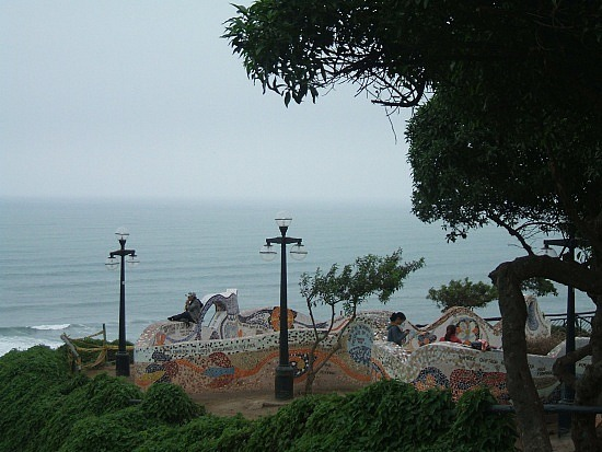 A park near Larco Mar