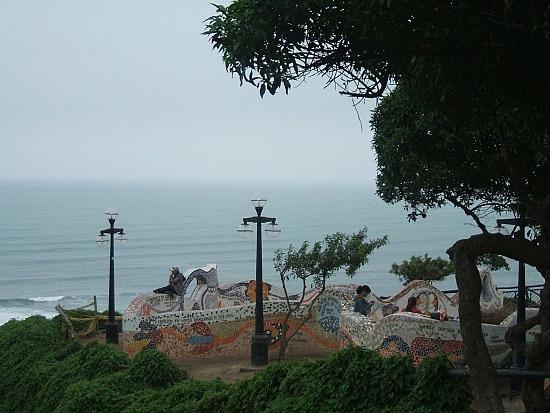 A park near Larco Mar