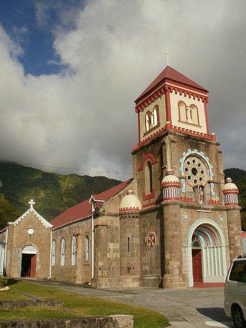 Soufriere church