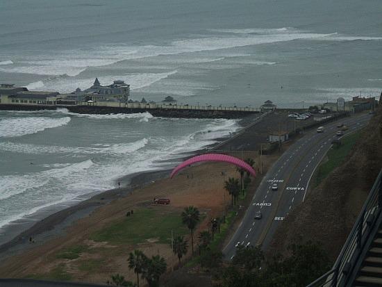 The beach at Miraflores