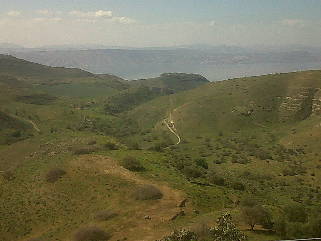 Golan hike