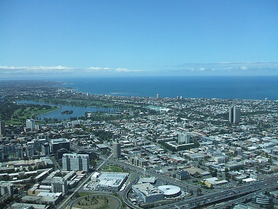 the view from Eureka skydeck